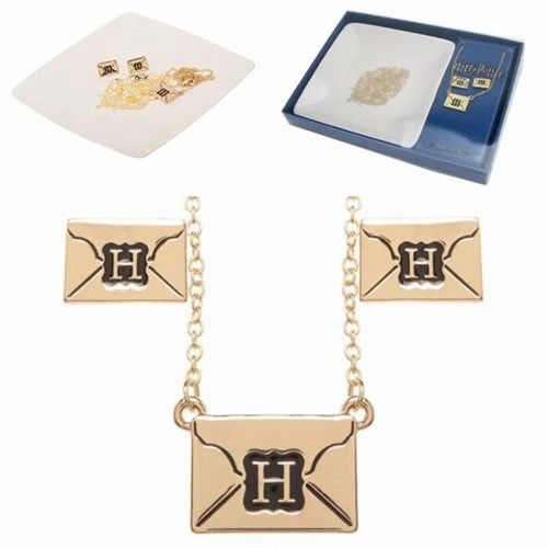 Hogwarts Jewelry Set With Tray