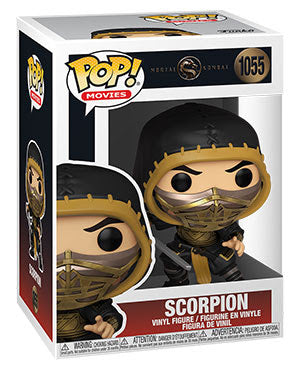*Pre-Order* Scorpion Mortal Kombat 2021 Funko Pop!