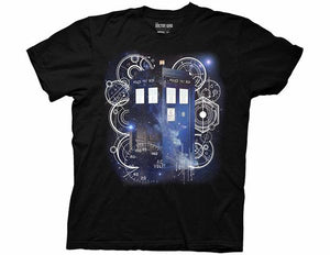 Doctor Who Tardis Space Tech Shirt