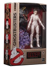 Kids and collectors alike can imagine slimy struggles and eerie ecto-encounters from the Ghostbusters Universe with figures from the Ghostbusters Plasma Series!    This six-inch-scale Gozer action figure is detailed to look the character from the 1984 Ghostbusters movie, featuring premium detail and multiple points of articulation. Collect select figures in the Ghostbusters Plasma Series to build a bonus Terror Dog action figure!