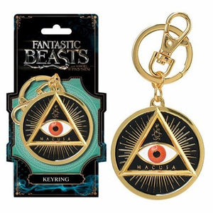Harry Potter Fantastic Beasts Macusa Key Ring