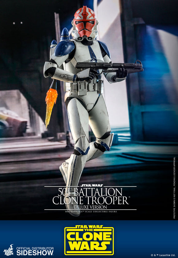 *Pre-Order* 501st Battalion Clone Trooper Deluxe 1/6th Scale Figure by Hot Toys