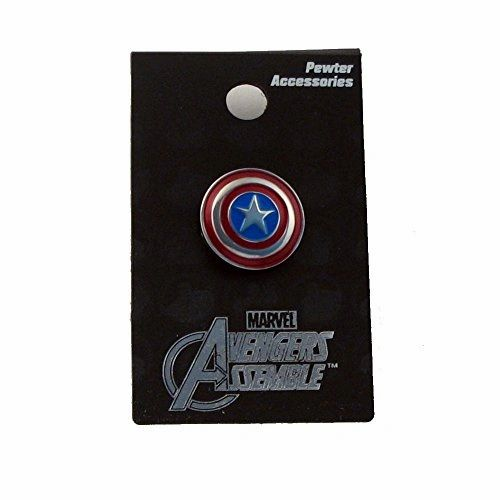 Captain America Shield Pewter Color Pin