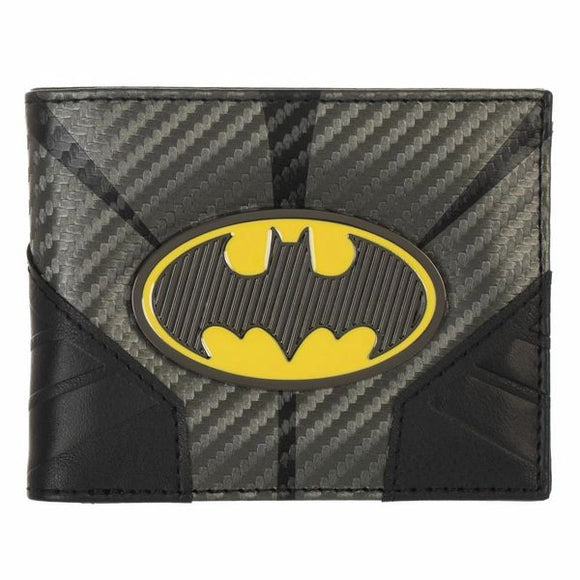 Batman Metal Badge Bi-Fold Wallet