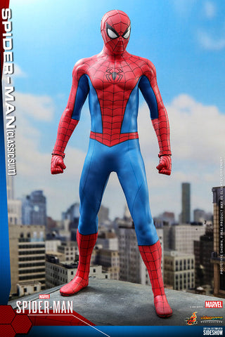 *Pre-Order* Spider-Man Classic Suit Sixth Scale Figure by Hot Toys