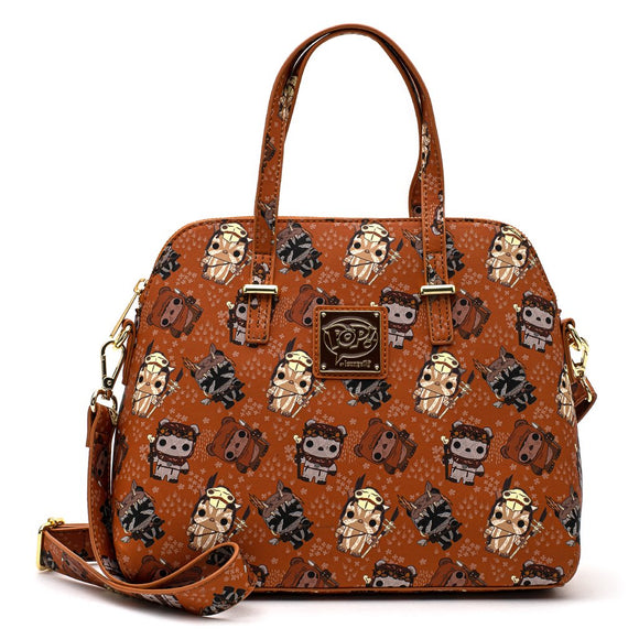 Star Wars Ewok All Over Print Crossbody Bag by Loungefly