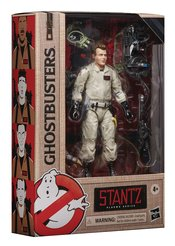 Ray Stantz is always eager to get down to bustin' business! Kids and collectors alike can imagine slimy struggles and eerie ecto-encounters from the Ghostbusters Universe with figures from the Ghostbusters Plasma Series!    This six-inch-scale Ray Stantz action figure is detailed to look the character from the 1984 Ghostbusters movie, featuring premium detail and multiple points of articulation.