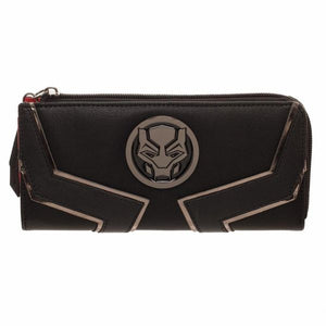 Black Panther Zip Wallet