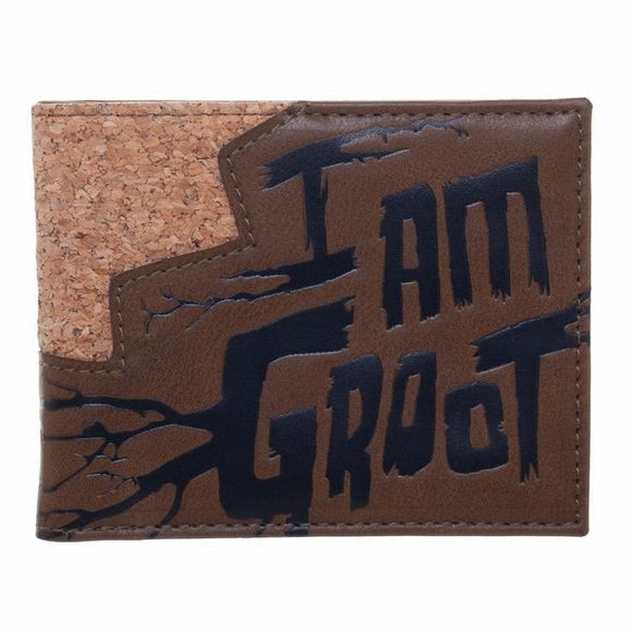 I am Groot Bi-Fold Wallet