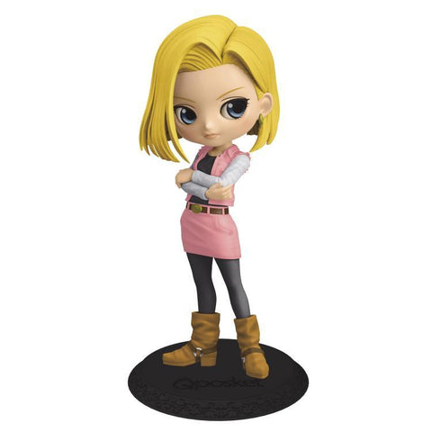 Android 18 Q Posket Statue