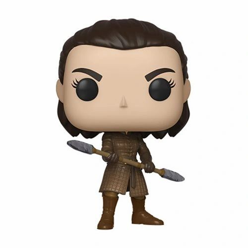 Arya Stark with Two-Headed Spear Funko Pop!