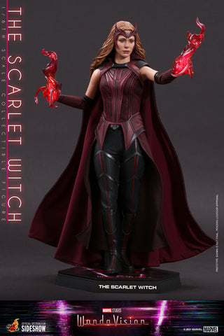 *Pre-Order* The Scarlet Witch WandaVision Sixth Scale Figure by Hot Toys