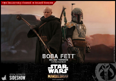 *Pre-Order* Boba Fett Deluxe Mandalorian Series Sixth Scale Figure by Hot Toys