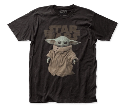 Grogu Baby Yoda Black Shirt Star Wars