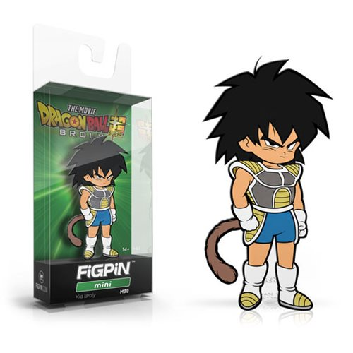 Kid Broly Dragon Ball FigPin Mini
