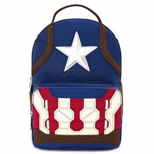 Captain America Endgame Mini Backpack by Loungefly