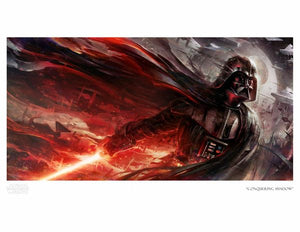"""Conquering Shadows"" Art Print by Raymond Swanland"
