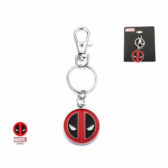 Deadpool Stainless Steel Keychain