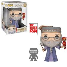 "Dumbledore with Fawkes 10"" Supersized Funko Pop!"