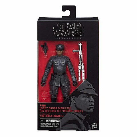Finn Black Series (First Order Disguise)
