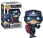 Captain America Stark Tech Suit Marvel Gamerverse Funko Pop!