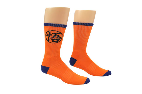 Goku Symbol Athletic Crew Socks