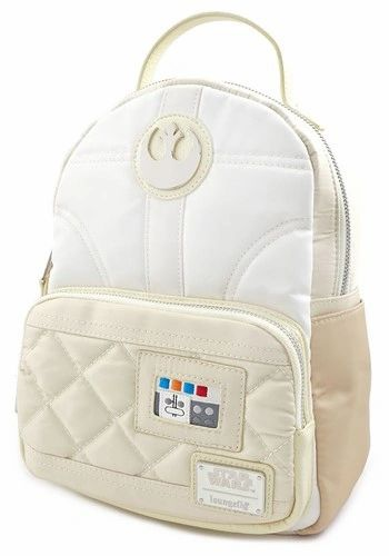 Princess Leia Satin Hoth Mini Backpack by Loungefly