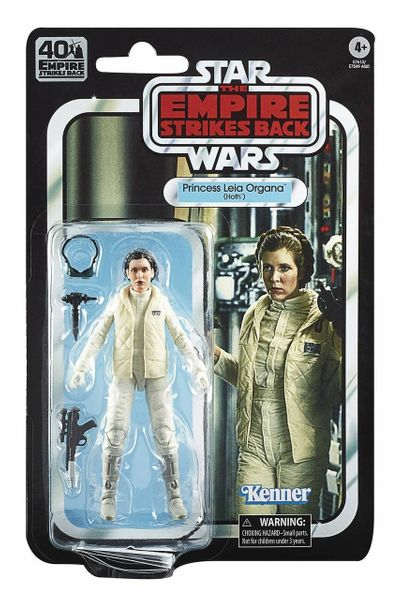 Hoth Leia Black Series ESB 40th Anniversary Wave 1
