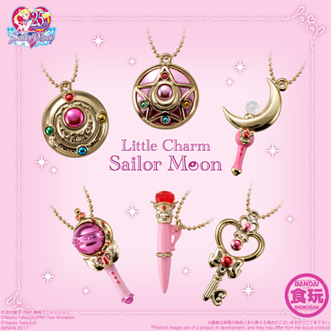 Sailor Moon Little Charms (Series 1) Mini Prop Replica Charms