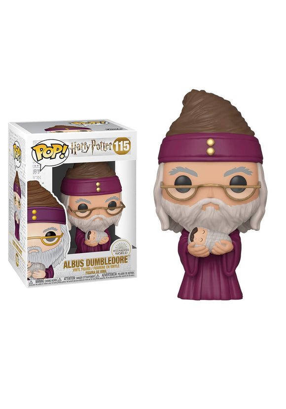 Dumbledore with Baby Harry Funko Pop!