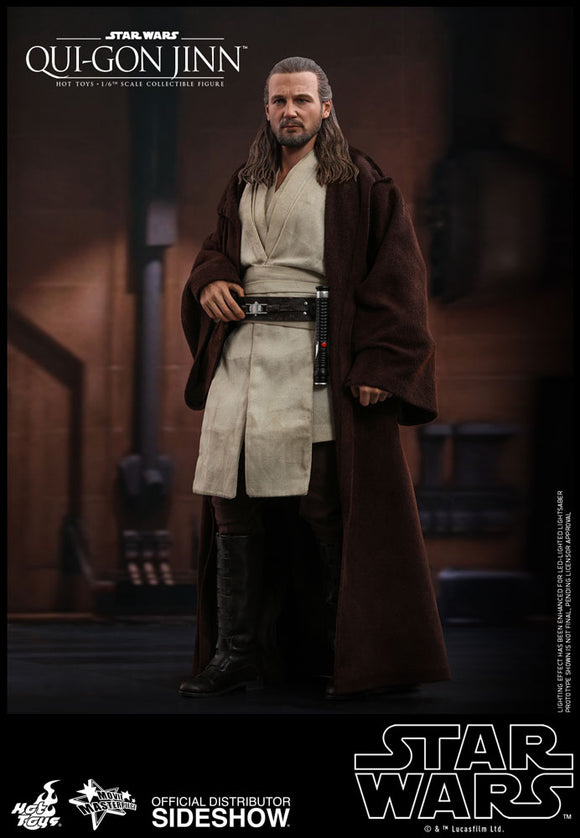 *Pre-Order* Qui-Gon-Jinn Hot Toys Movie Masterpiece Series