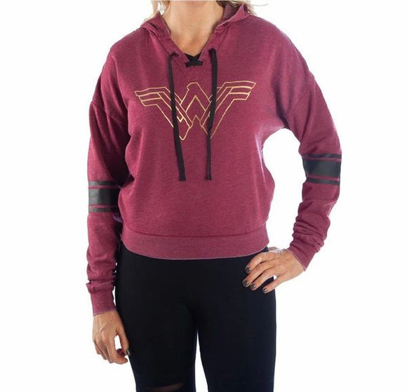 Wonder Woman Lace Up Hoodie