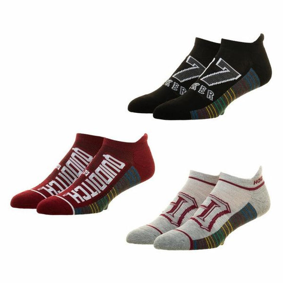 Quidditch Ankle Socks 3 Pack