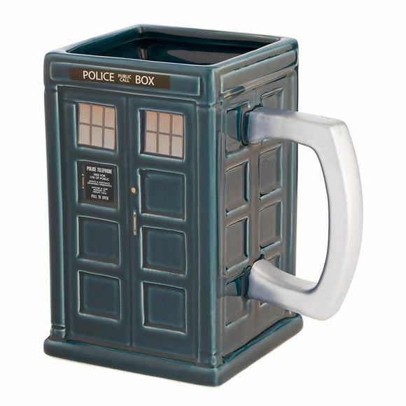 TARDIS Sculpted Mug
