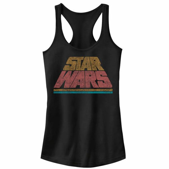 Star Wars Title Crawl Racerback Juniors Tank