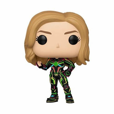 Captain Marvel Neon Suit Funko Pop