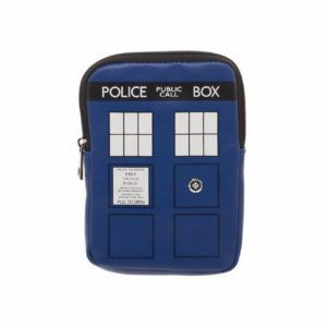 Doctor Who Tardis Zipper Coin Pouch