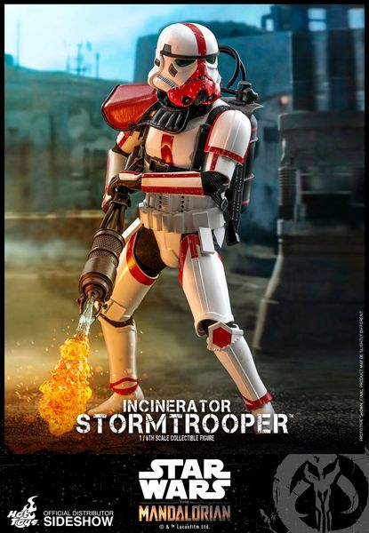 Incinerator Stormtrooper Star Wars The Mandalorian 1/6th Scale Sideshow Hot Toys Figure