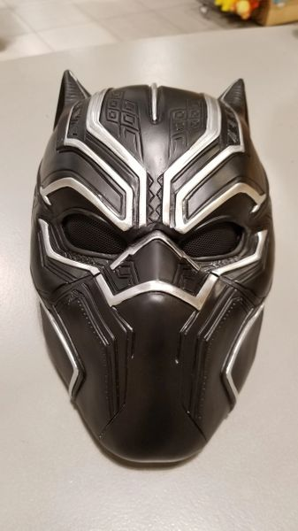 Black Panther Resin Mask