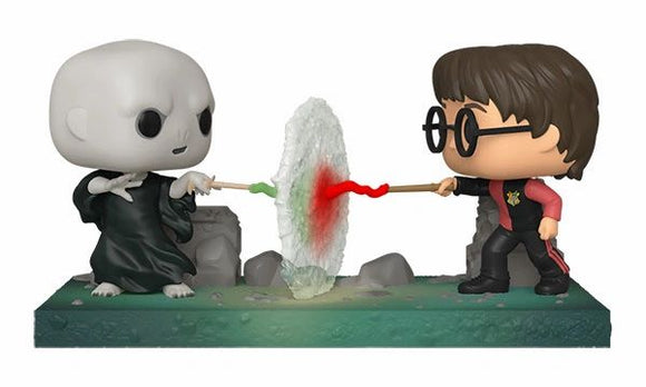 Voldemort vs Harry Potter Movie Moments Funko Pop!