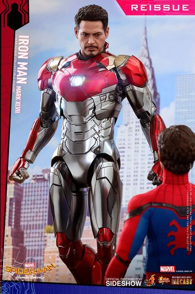 Iron Man XLVII (Spider-Man: Homecoming) 1/6th Scale Figure Hot Toys