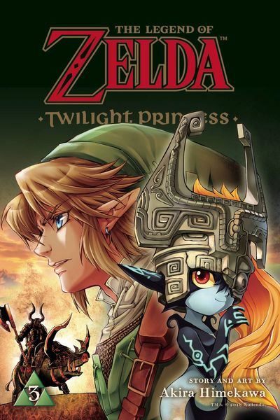 Zelda Twilight Princess Manga Vol. 3