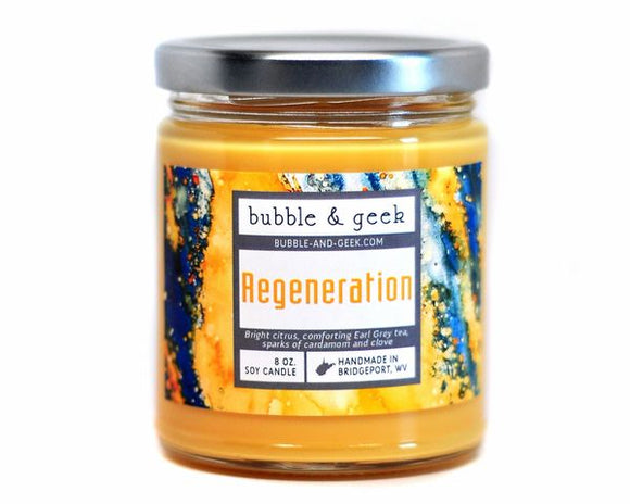 Regeneration Candle Jar