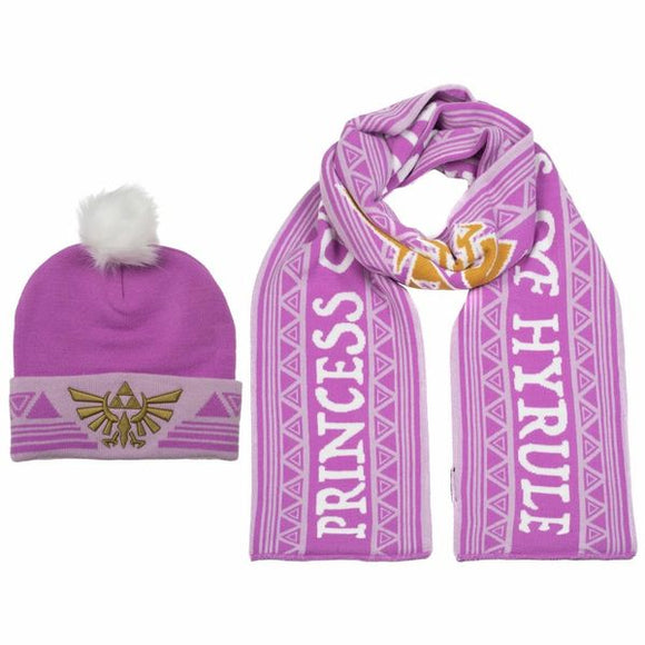 Zelda Twilight Princess Beanie & Scarf Set