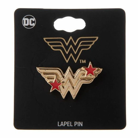 Wonder Woman Star Lapel Pin
