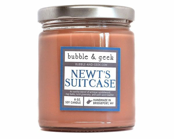 Newt's Suitcase Candle Jar