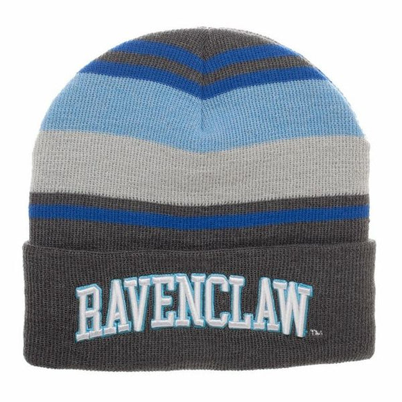 Ravenclaw House Striped Beanie