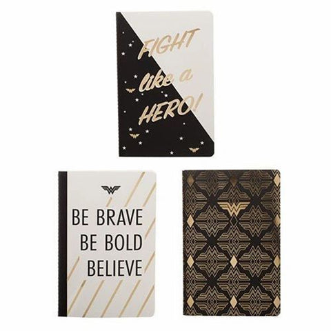 Wonder Woman Soft Cover Journal 3 Pack