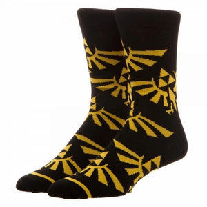 Zelda All Over Print Crew Socks