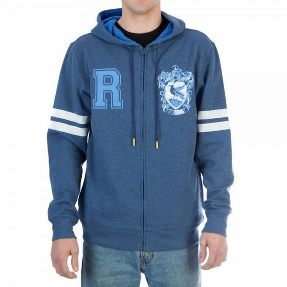 Ravenclaw House Crest Zipper Hoodie